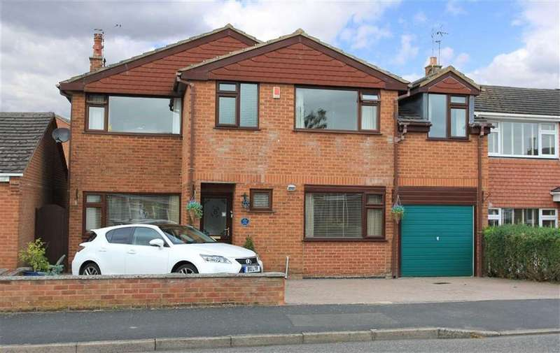 6 Bedrooms Detached House for sale in Home Close Road, Houghton On The Hill, Leicester