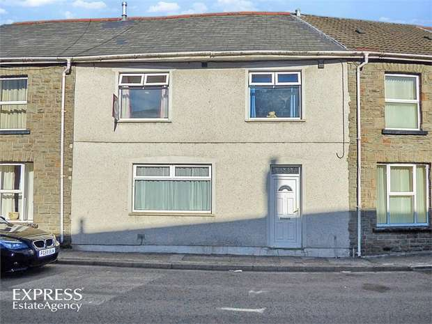 3 Bedrooms Terraced House for sale in Wyndham Crescent, Aberdare, Mid Glamorgan