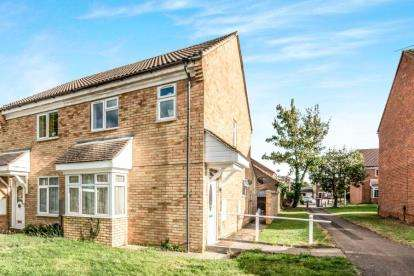 3 Bedrooms End Of Terrace House for sale in Beatrice Street, Kempston, Bedford, Bedfordshire