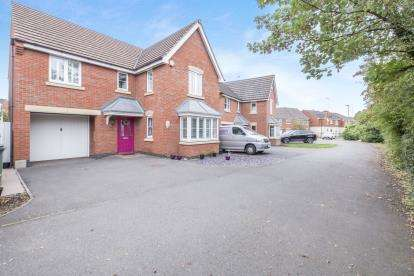 4 Bedrooms Detached House for sale in Loughland Close, Blaby, Leicester, Leicestershire