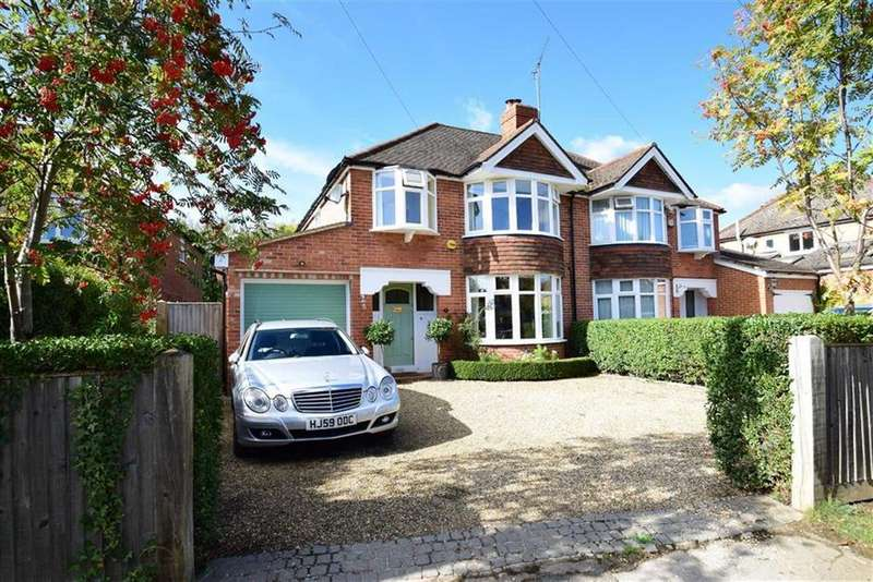 3 Bedrooms Semi Detached House for sale in Woodcote Way, Caversham Heights, Reading