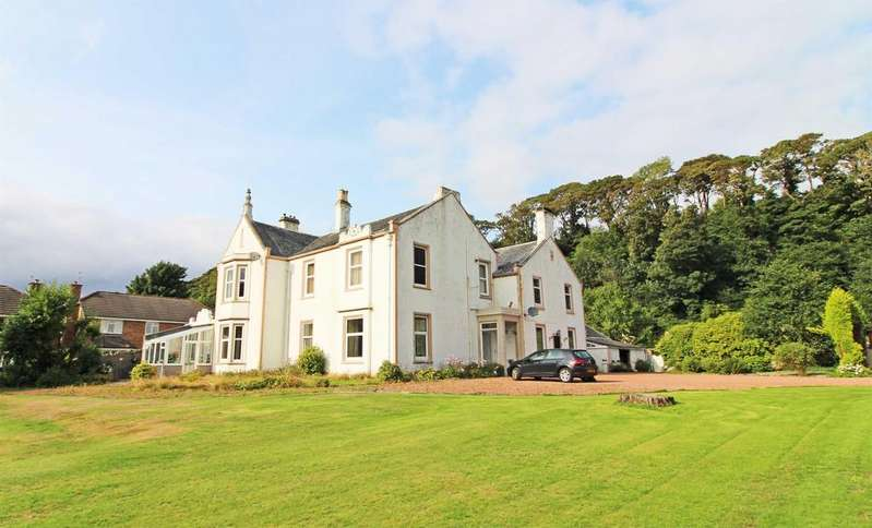3 Bedrooms Ground Flat for sale in Flat 2, Elmbank House, 112 Greenock Road, LARGS, KA30 8PF