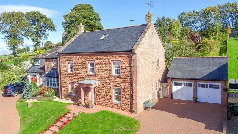 5 Bedrooms Detached House for sale in Highbank House, 10 Low Farm, Langwathby, Penrith, Cumbria