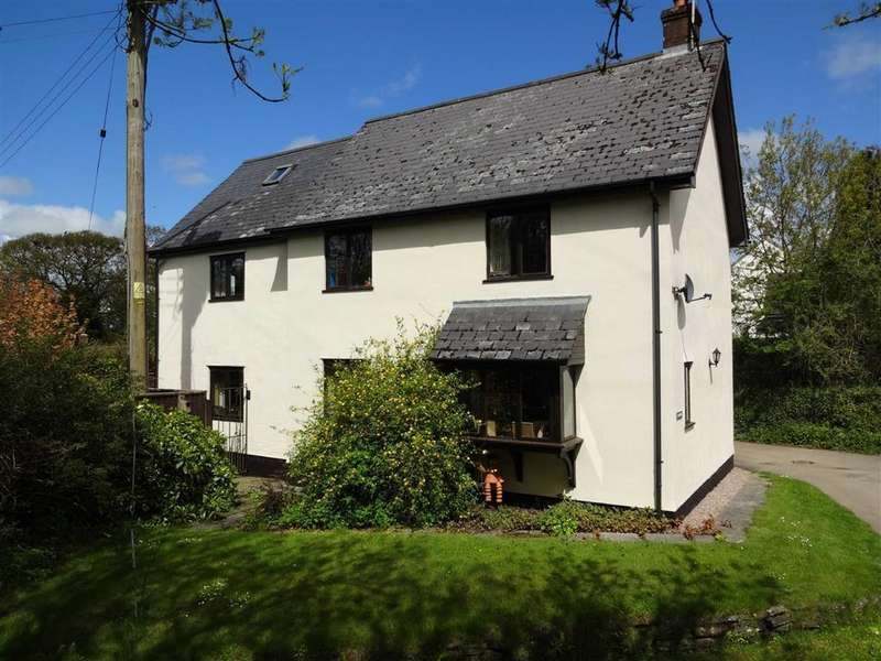 4 Bedrooms Detached House for sale in Alswear, South Molton, Devon, EX36