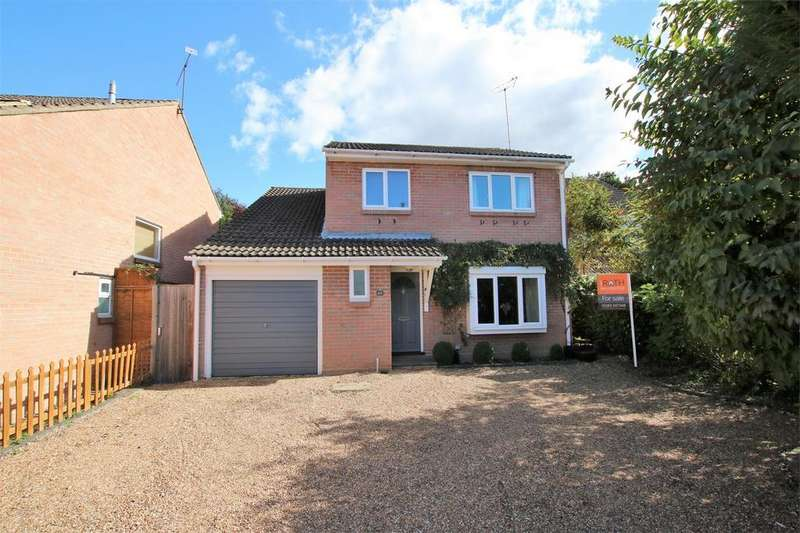 4 Bedrooms Detached House for sale in 45 Kestrel Way, WOKINGHAM, Berkshire