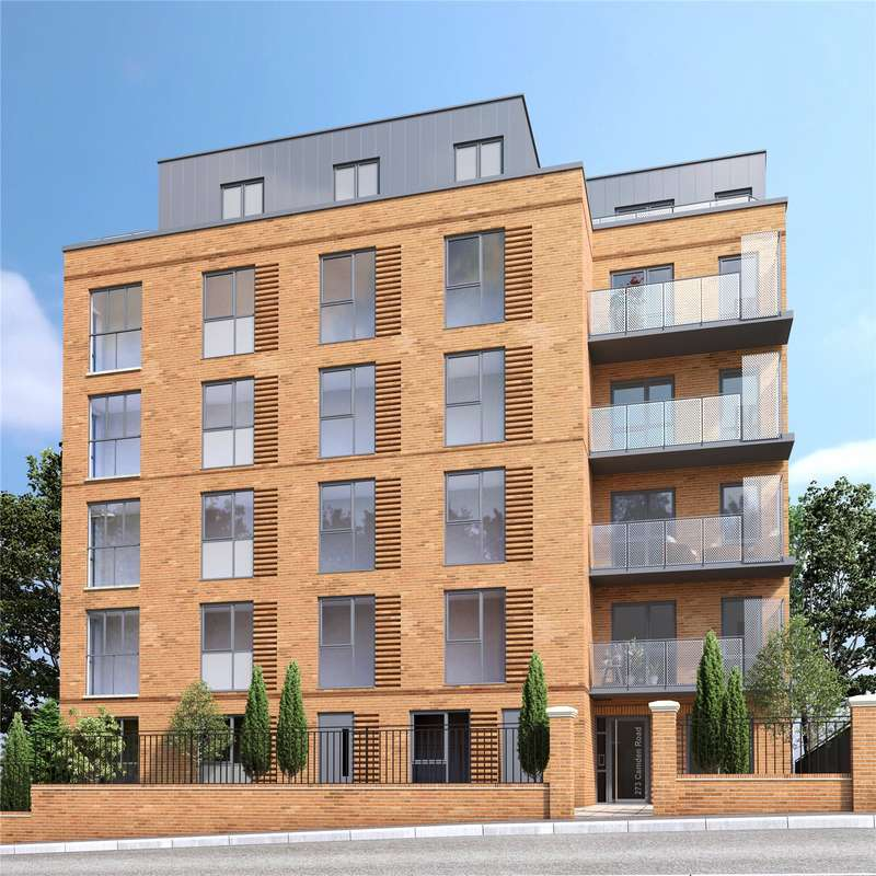 2 Bedrooms Flat for sale in ICON7, 273 Camden Road, N7