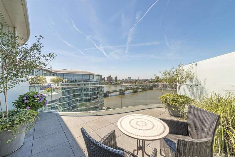 4 Bedrooms Penthouse Flat for sale in Albion Riverside Building, 8 Hester Road, Battersea, London, SW11