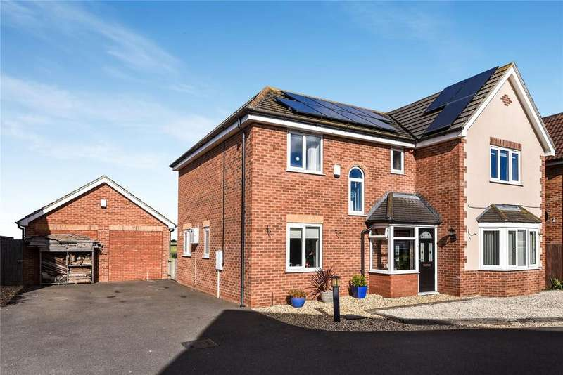 4 Bedrooms Detached House for sale in Willow Lane, Billinghay, LN4