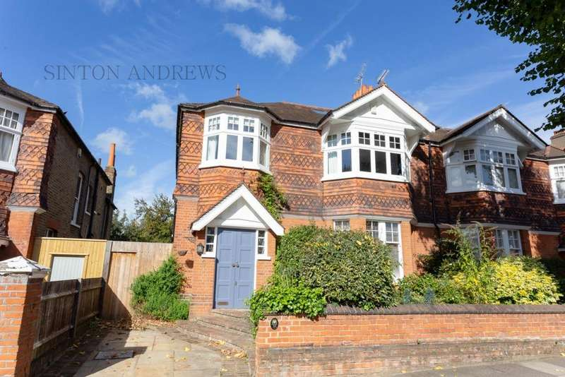 6 Bedrooms Semi Detached House for sale in Hillcroft Crescent, Ealing, W5