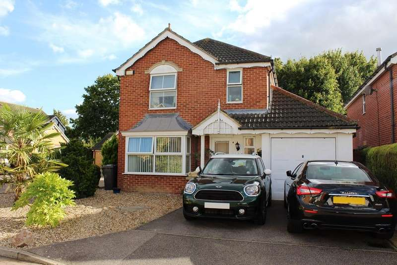 4 Bedrooms Detached House for sale in Sale Drive, Clothall Common, Baldock, SG7