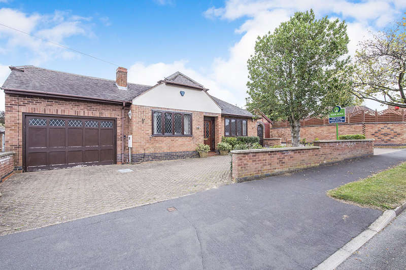 3 Bedrooms Detached Bungalow for sale in Hall Road, Burbage, Hinckley, LE10