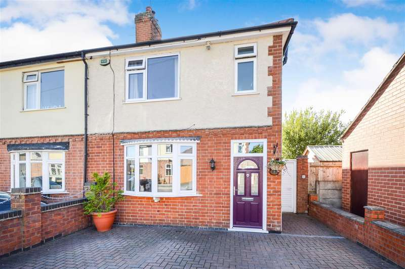 2 Bedrooms Semi Detached House for sale in Park Avenue, Shepshed, Loughborough