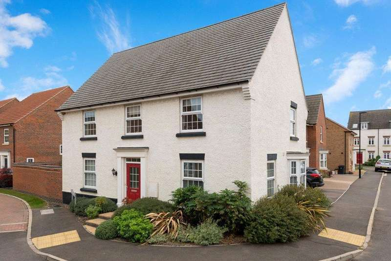 4 Bedrooms Detached House for sale in Huntingdon Place, Bourne, PE10