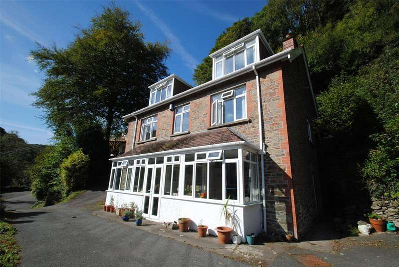 4 Bedrooms Detached House for sale in Lynbridge, Lynton