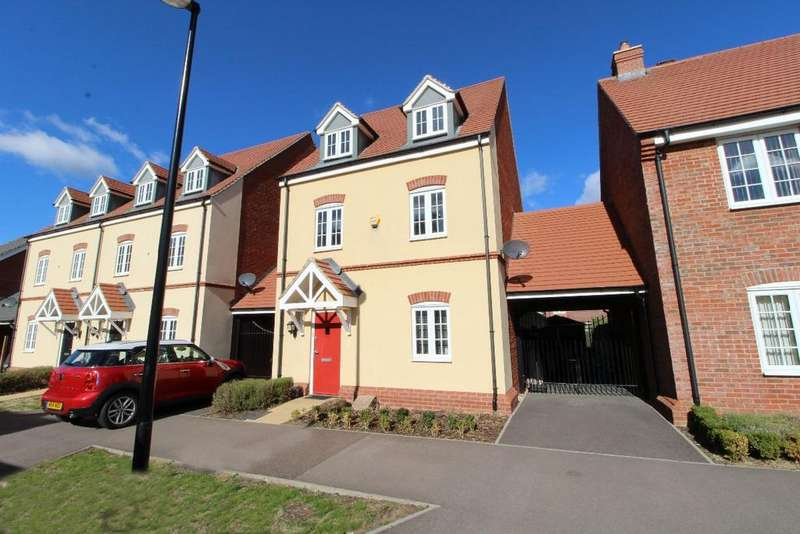 4 Bedrooms Link Detached House for sale in Wren Terrace, Wixams MK42