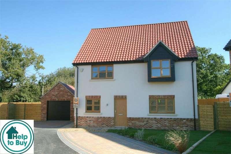 4 Bedrooms Detached House for sale in *HELP TO BUY PRICE 308,000*, Plot 11 Stonebridge Green, IP24 1QR East Wretham