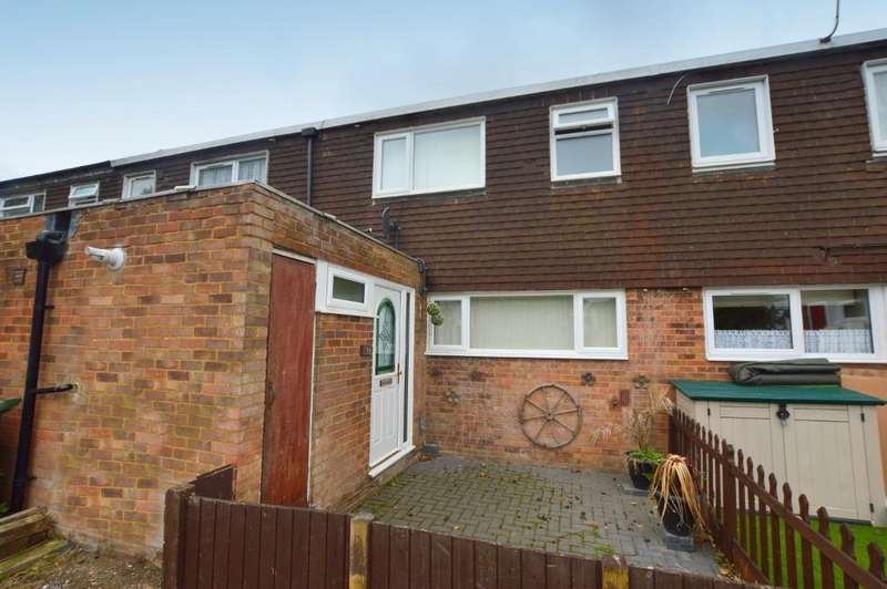 3 Bedrooms Terraced House for sale in Chelsea Gardens, Houghton Regis, Bedfordshire, LU5 5RN