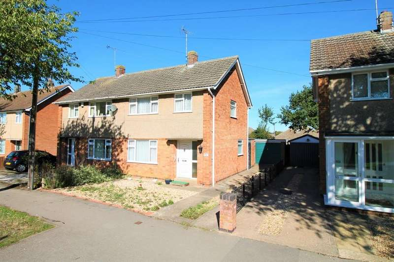 3 Bedrooms Semi Detached House for sale in Western Avenue, Market Harborough