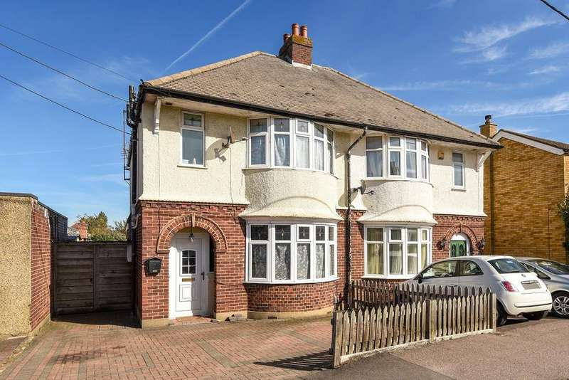 3 Bedrooms Semi Detached House for sale in Station Road, Flitwick, MK45