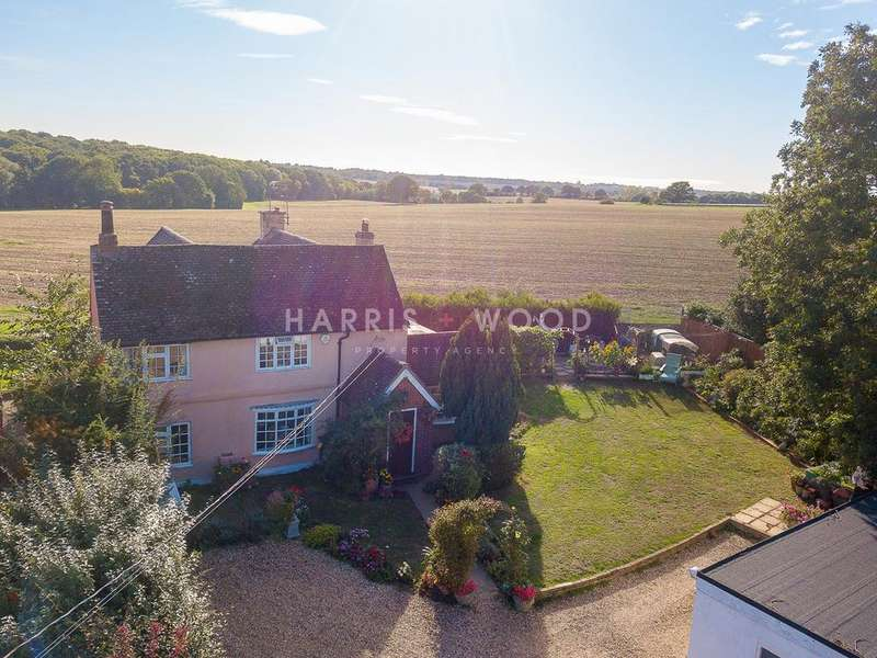 4 Bedrooms Detached House for sale in Colchester Road, West Bergholt, CO6