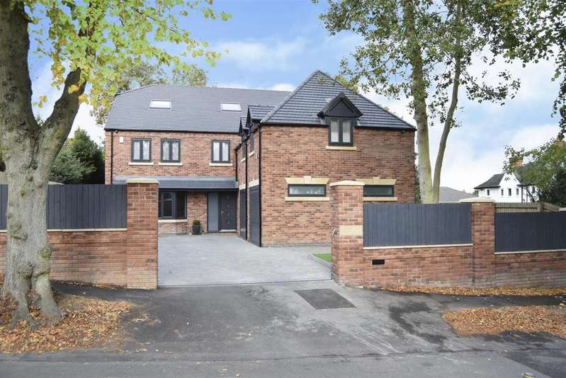 5 Bedrooms Detached House for sale in High Oakham Road, Mansfield