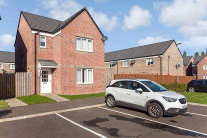 3 Bedrooms Detached House for sale in Rhinds Place, Baillieston, Glasgow, Lanarkshire