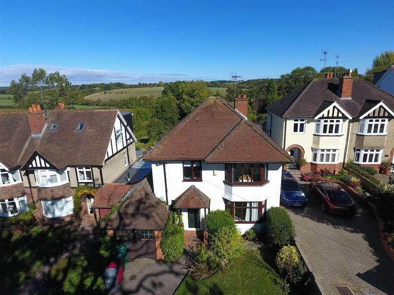 3 Bedrooms Detached House for sale in Kidmore Road, Caversham Heights, Reading
