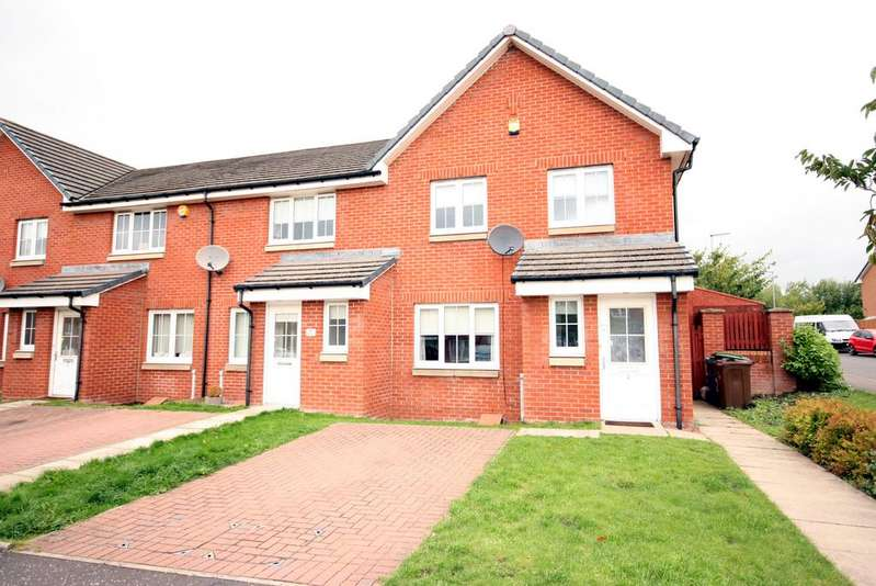 3 Bedrooms End Of Terrace House for sale in Rigby Crescent, Carntyne, G32