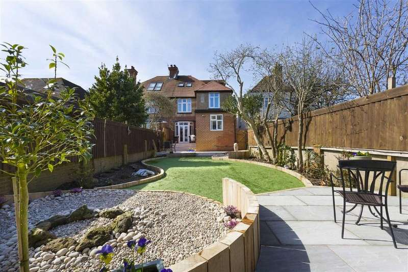 5 Bedrooms Semi Detached House for sale in Portland Avenue, Hove
