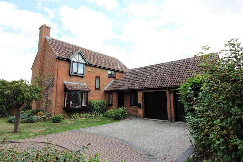 4 Bedrooms Detached House for sale in Sparksfield, Henlow, SG16