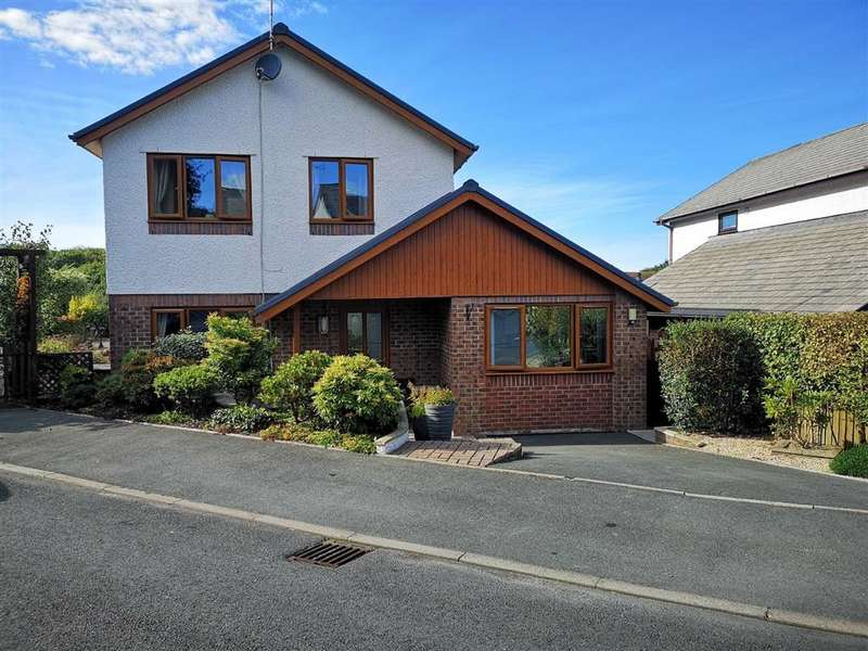 4 Bedrooms Detached House for sale in Crugyn Dimai, Rhydyfelin, Aberystwyth