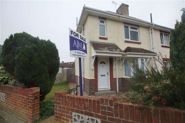 2 Bedrooms Semi Detached House for sale in Freshwater Road, Cosham, Portsmouth, Hampshire, PO6 3HU