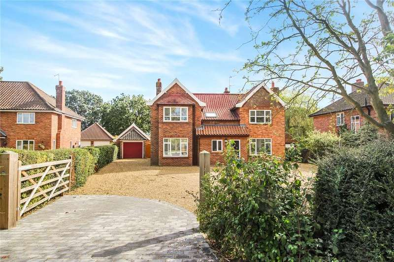 4 Bedrooms Detached House for sale in High Green, Brooke, Norwich, Norfolk, NR15