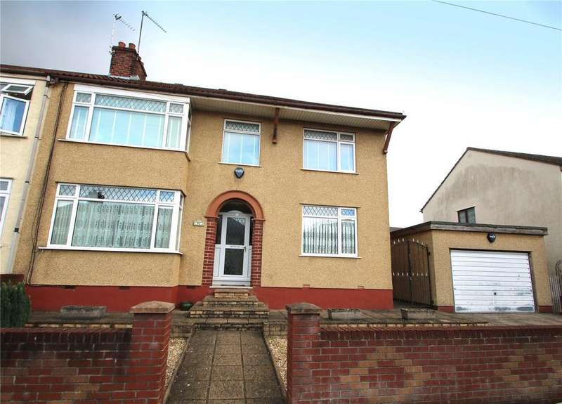 4 Bedrooms Semi Detached House for sale in Savoy Road, Brislington, Bristol, BS4