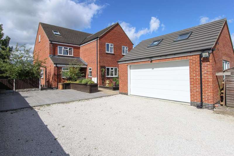 5 Bedrooms Detached House for sale in Stretton Road, Clay Cross