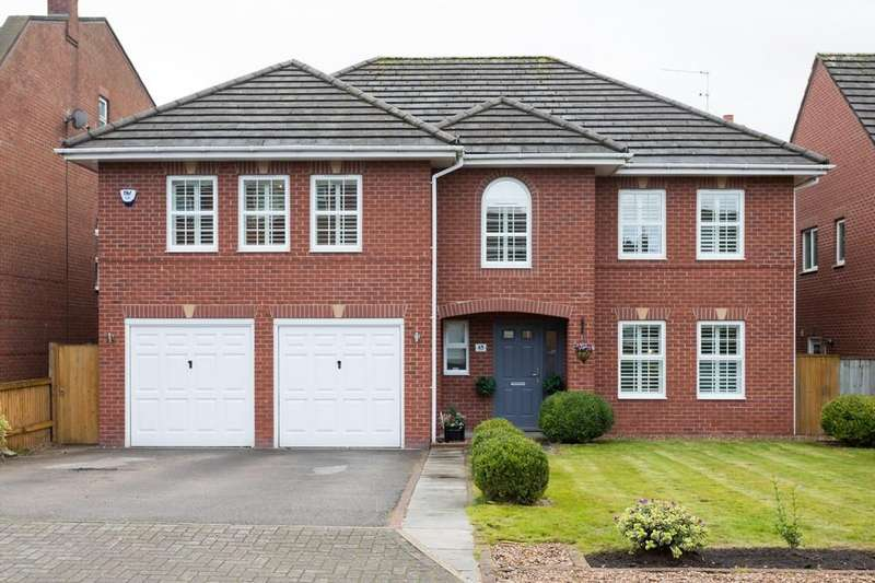 5 Bedrooms Detached House for sale in Hunts Field Close, Lymm