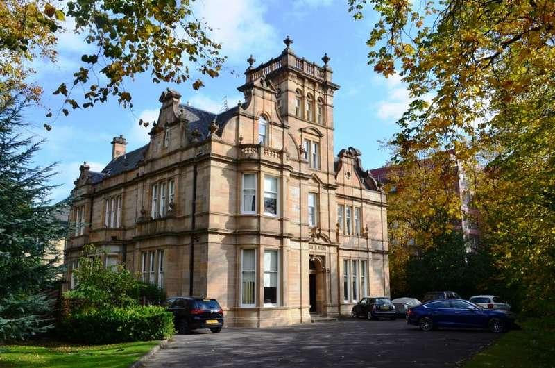 2 Bedrooms Flat for sale in Cleveden Road, Flat 0/1, Kelvinside, Glasgow, G12 0PG