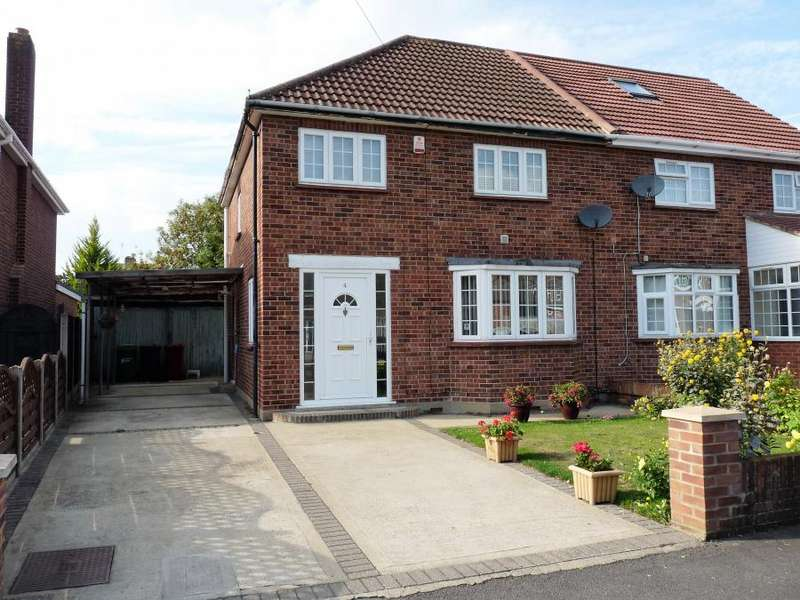3 Bedrooms Semi Detached House for sale in Stanton Way, Langley