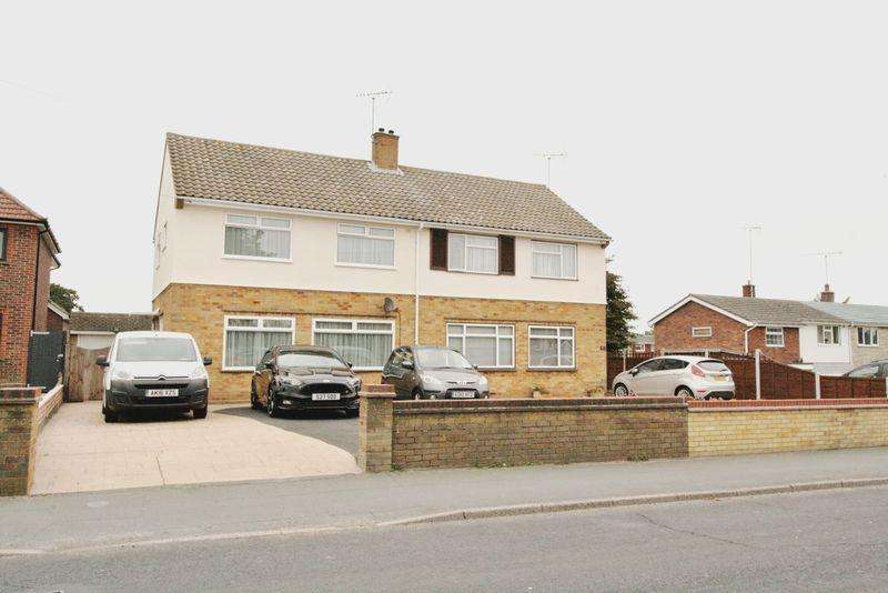 3 Bedrooms Semi Detached House for sale in Abbots Road, Colchester