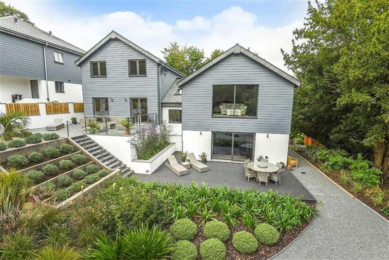 4 Bedrooms Detached House for sale in Goonvrea, Perranarworthal, Truro, Cornwall, TR3