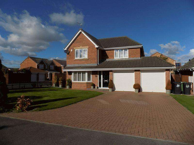 4 Bedrooms Detached House for sale in Edinburgh Drive, Bedlington