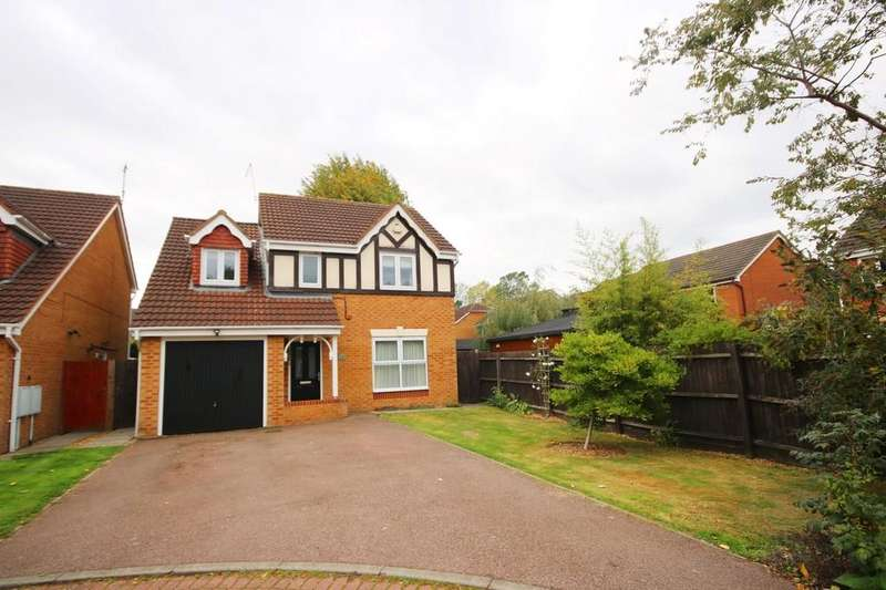4 Bedrooms Detached House for sale in Guscott Road, Coalville