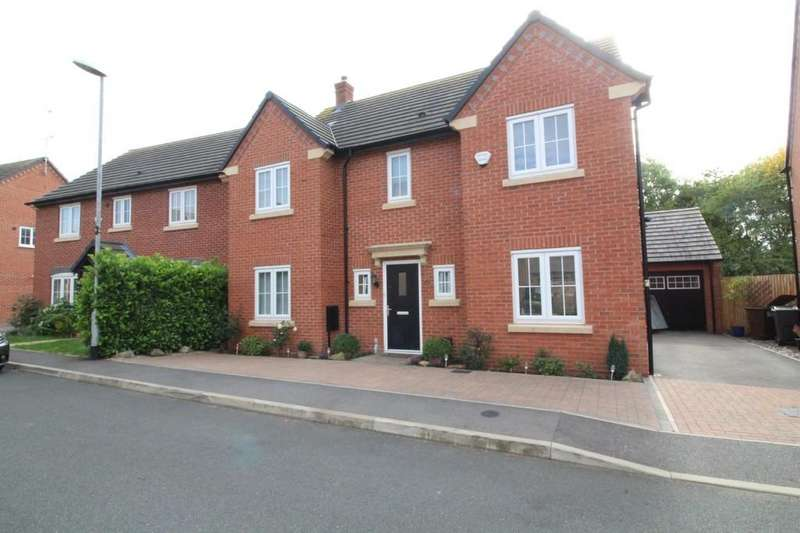 4 Bedrooms Detached House for sale in Beck Crescent, Loughborough
