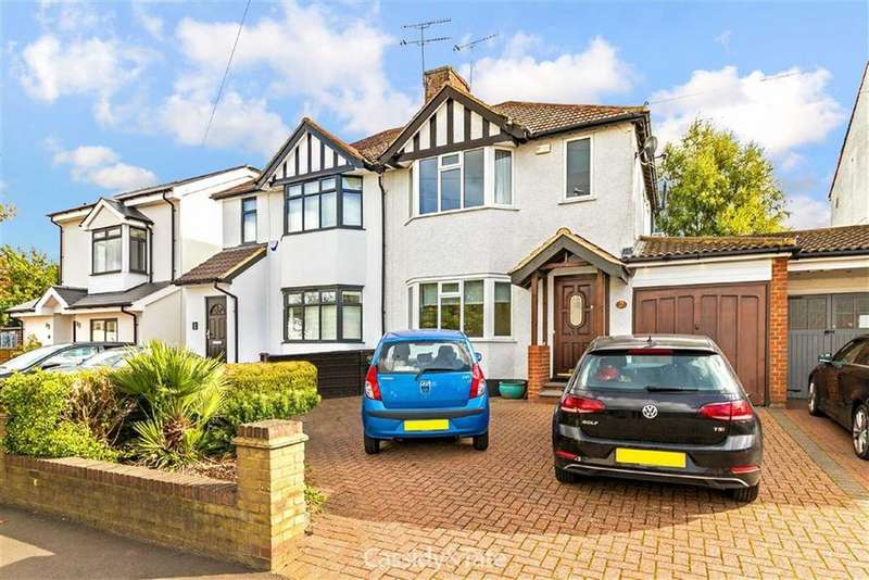 3 Bedrooms Semi Detached House for sale in Ashley Road, St Albans, Hertfordshire