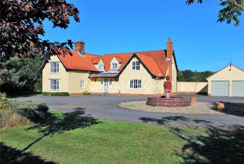 4 Bedrooms Detached House for sale in Coles Oak Lane, Dedham, Colchester, Essex, CO7