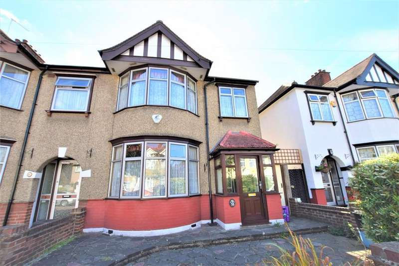 4 Bedrooms Semi Detached House for sale in Primrose Avenue, Chadwell Heath, RM6 4QD