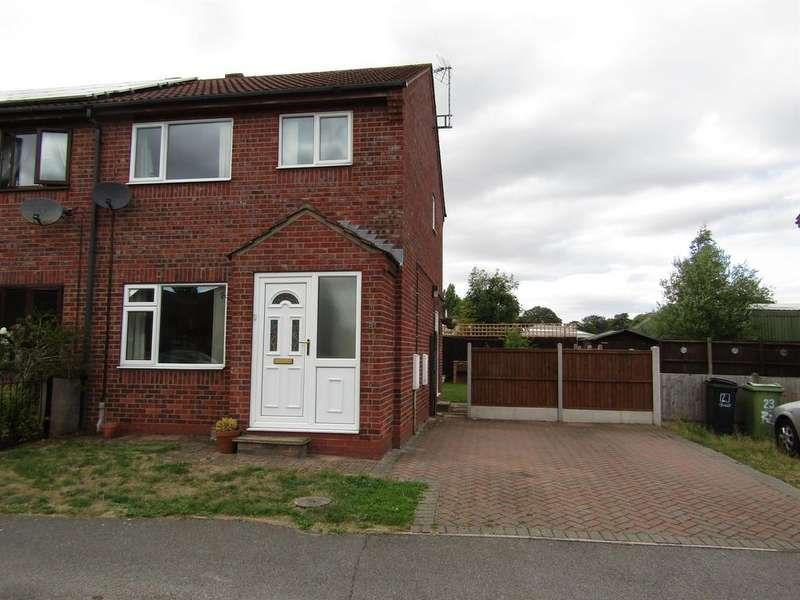 3 Bedrooms Semi Detached House for sale in Pingle Close, Gainsborough, DN21 1XR
