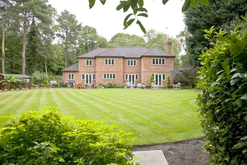 5 Bedrooms Detached House for sale in STUNNING SECLUSION, PRINCE ALBERT DRIVE, ASCOT