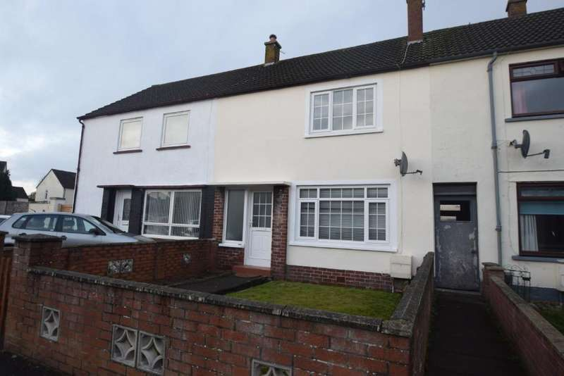 2 Bedrooms Terraced House for sale in Carnell Terrace, Prestwick, South Ayrshire, KA9 1EA