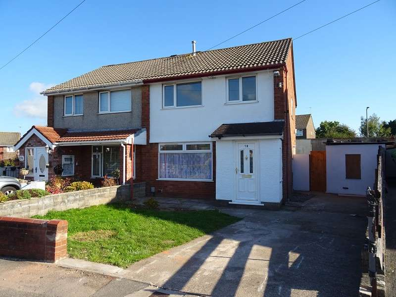 3 Bedrooms Semi Detached House for sale in Vincent Close, Barry, The Vale Of Glamorgan. CF63